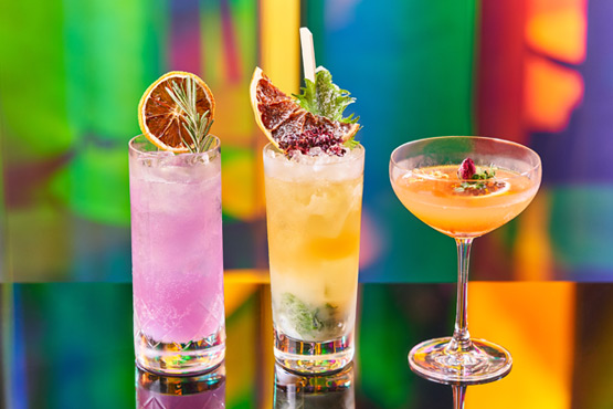 guests enjoyed cocktails made - 555×370